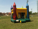Big Sky Party Rentals Crayons Multi-colored Castle