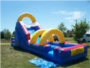 Flume Water Slide from Big Sky Party Rentals