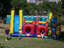 Double Obstacle Course from Big Sky Party Rentals