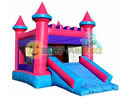 Pink Castle Combo Unit from Big Sky Party Rentals