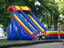 22 Foot Screamer Slide from Big Sky Party Rentals
