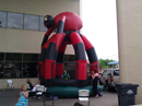 Big Sky Party Rentals Spider Multi-colored Castle