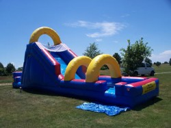 Flume Water Slide from Big Sky Party Rentals 10
